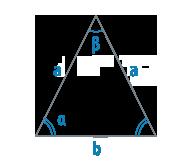 Стороны и углы равнобедренного треугольника