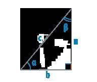 Углы прямоугольного треугольника