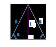 Биссектриса равнобедренного треугольника
