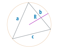 Радиус описанной окружности треугольника