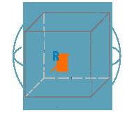 Радиус описанной сферы куба