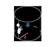 Радиус и объем цилиндра