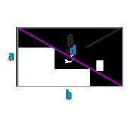 Диагональ прямоугольника