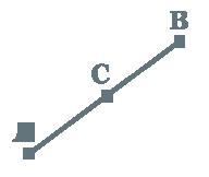 Найти координаты середины отрезка
