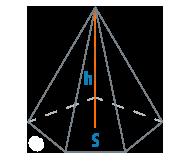 Площадь и высота правильной пирамиды