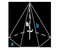 Ребро и сторона основания правильной пирамиды