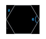 Угол и сторона правильного многоугольника