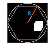 Радиус описанной окружности правильного многоугольника