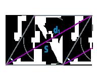 Площадь и диагональ ромба