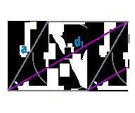 Диагональ и сторона ромба