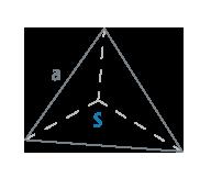 Площадь тетраэдра