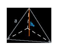 Высота тетраэдра