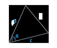 Две стороны и угол треугольника