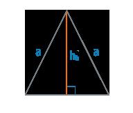 Высота и сторона равнобедренного треугольника