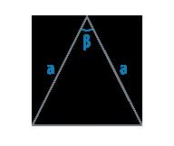 Сторона и угол равнобедренного треугольника