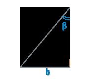 Катет и угол прямоугольного треугольника