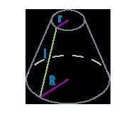 Радиус и образующая усеченного конуса