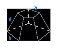 Стороны и ребро усеченной пирамиды