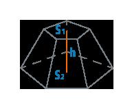 Объем усеченной пирамиды